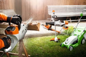 Ремонт садового оборудования