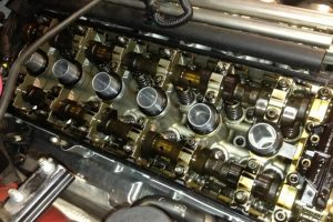 Двигатель после раскоксовки