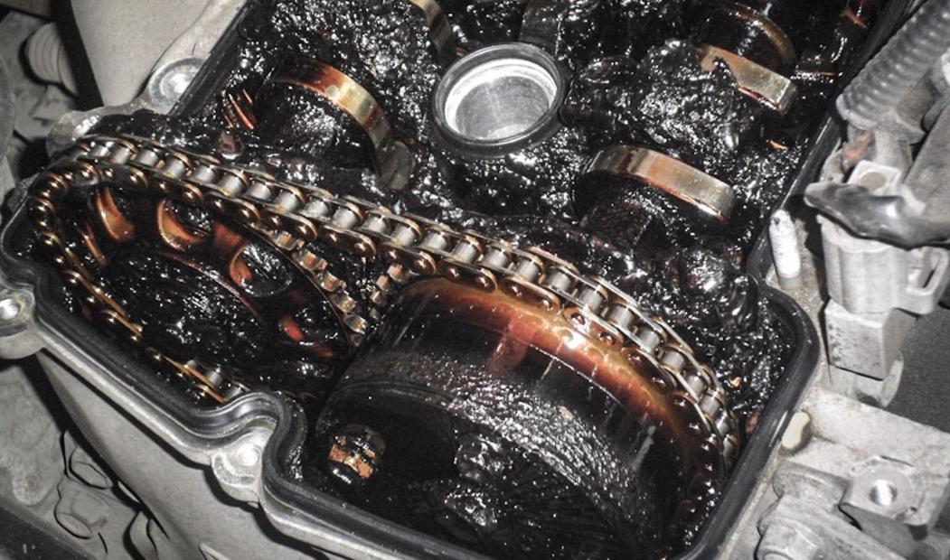 Необходимость промывки двигателя от кокса и гари