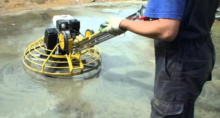 Ремонт затирочных машин для бетона