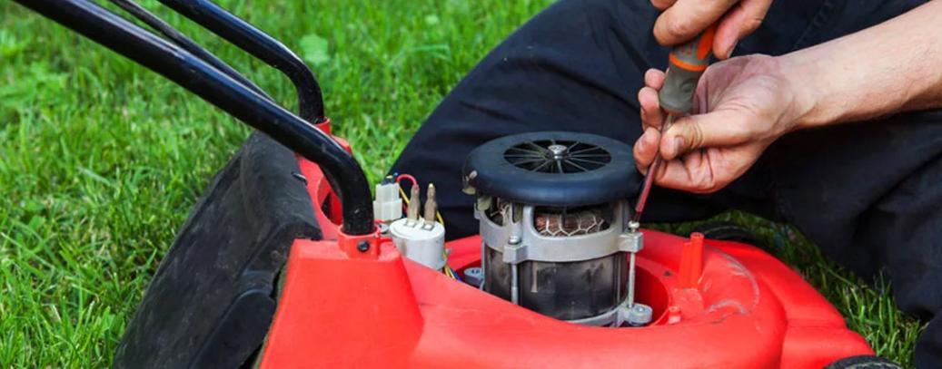 Срочный ремонт садовых газонокосилок в Ростове