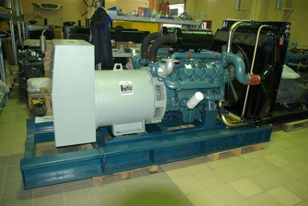 заглох дизельный генератор