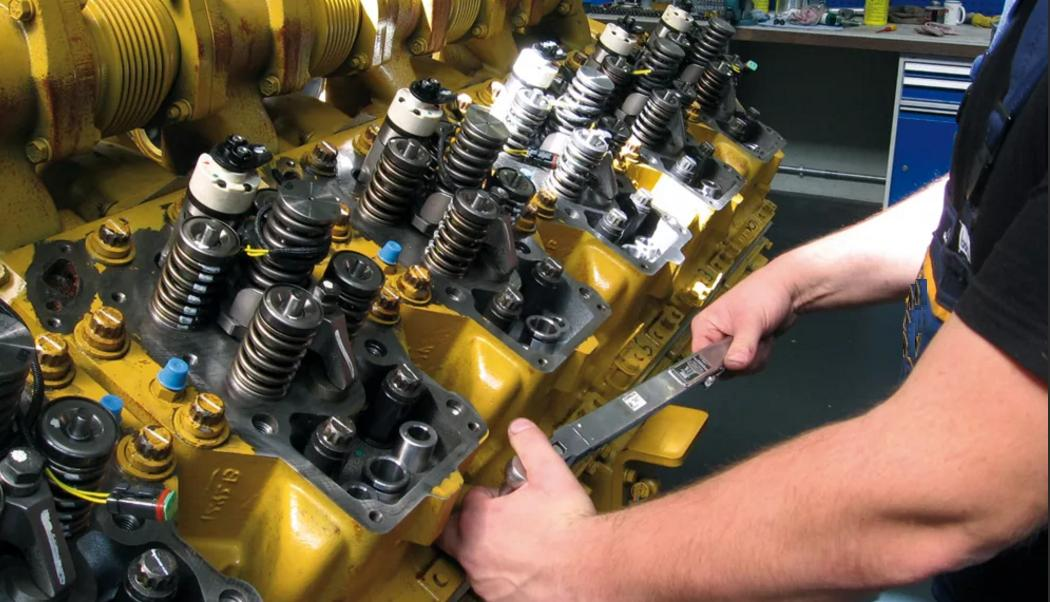 ремонт двигателя электростанции 2