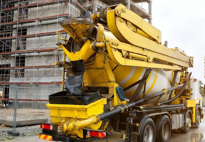 остановилась подача бетона в Ростове