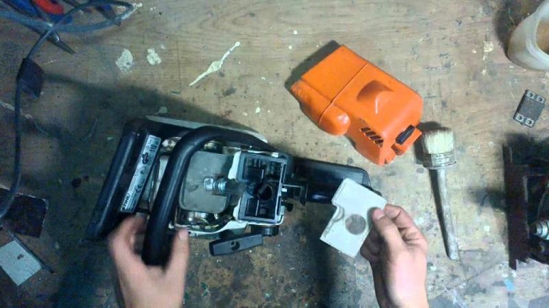 ремонтировать бензо пилу