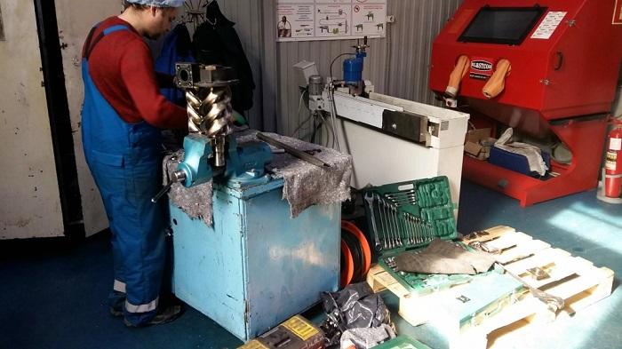 мастерская по ремонту спецтехники