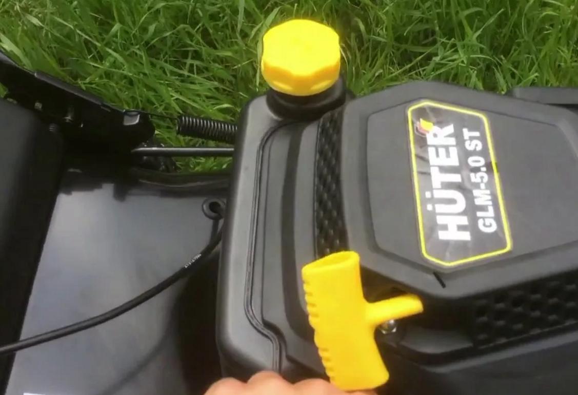 Ремонт газонокосилок HUTER