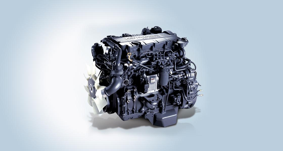 ремонт двигателей автобусов Hyundai Counti