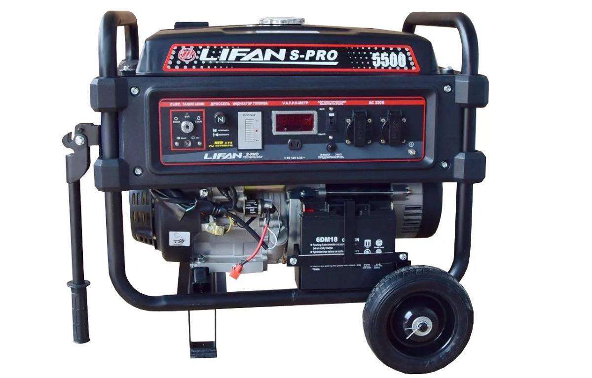 Сервис и ремонт генераторов Lifan