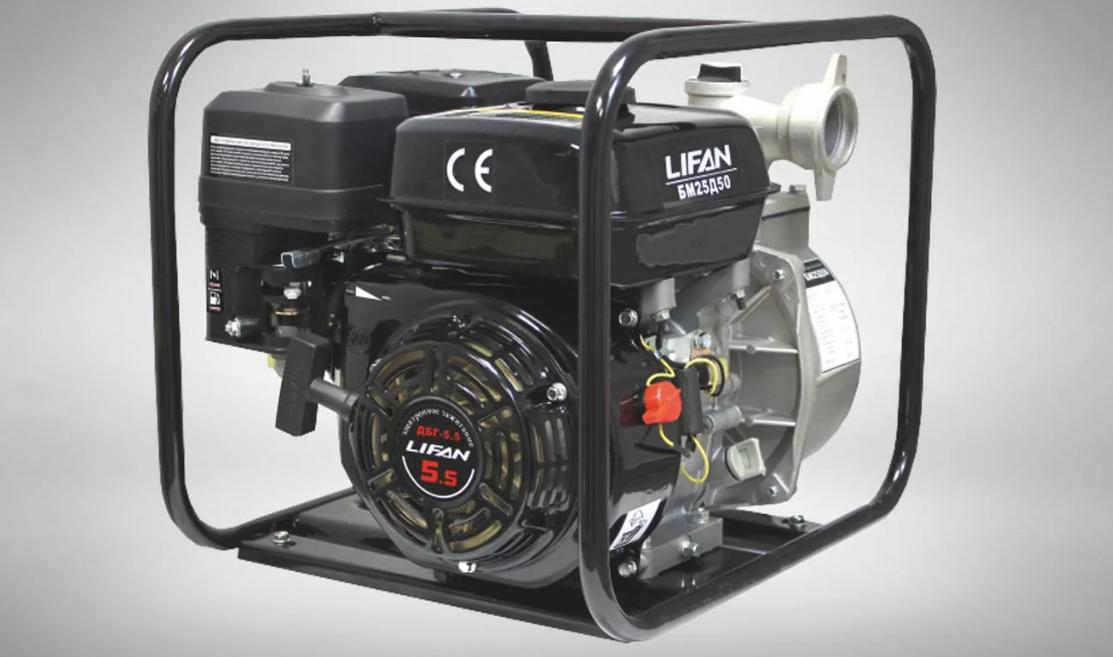 Сервис и ремонт мотопомп Lifan