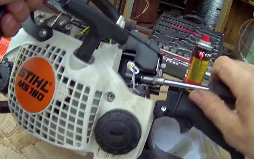 Сервис ТО и ремонт бензиновых пил  Stihl