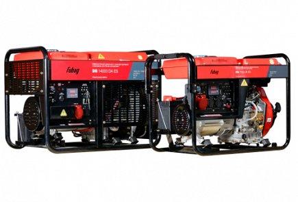 Мы ремонтируем следующие популярные модели дизельных генераторов и электростанций Fubag