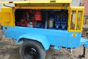 Сервис и ремонт передвижных компрессоров ПКСД