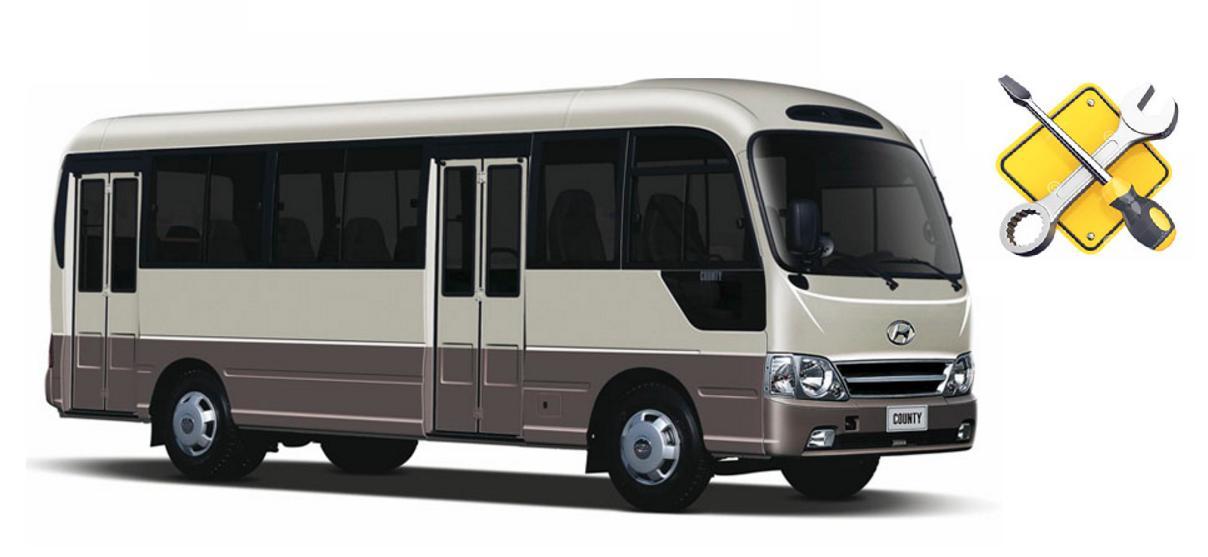 Сервис, техническое обслуживание и ремонт Hyundai Countyв Ростове