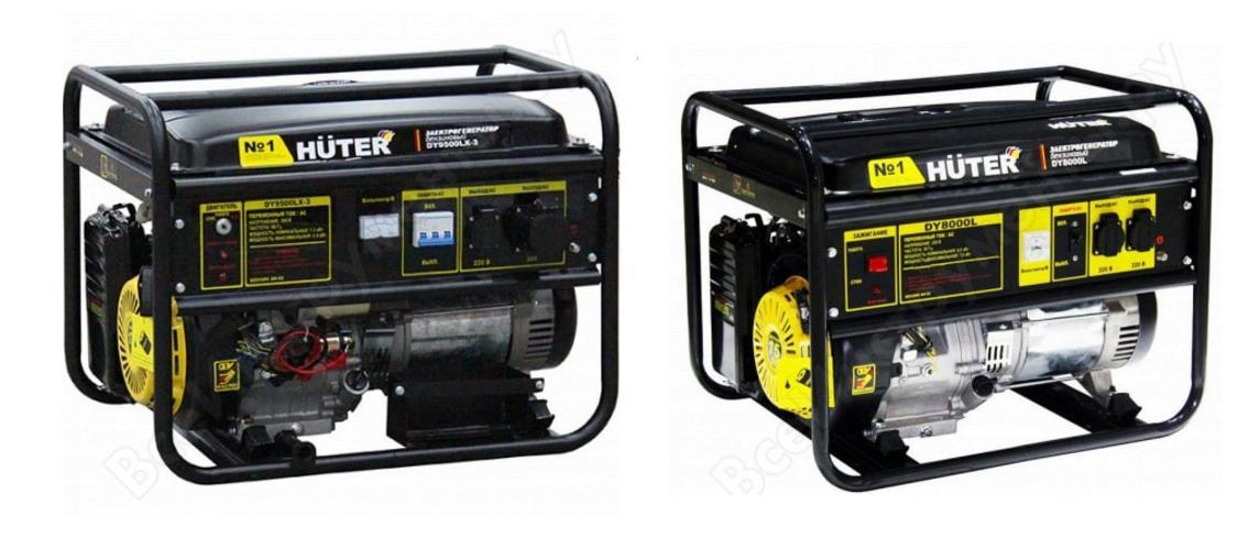 Сервис, техническое обслуживание и ремонт генераторов и электрических станций Huter