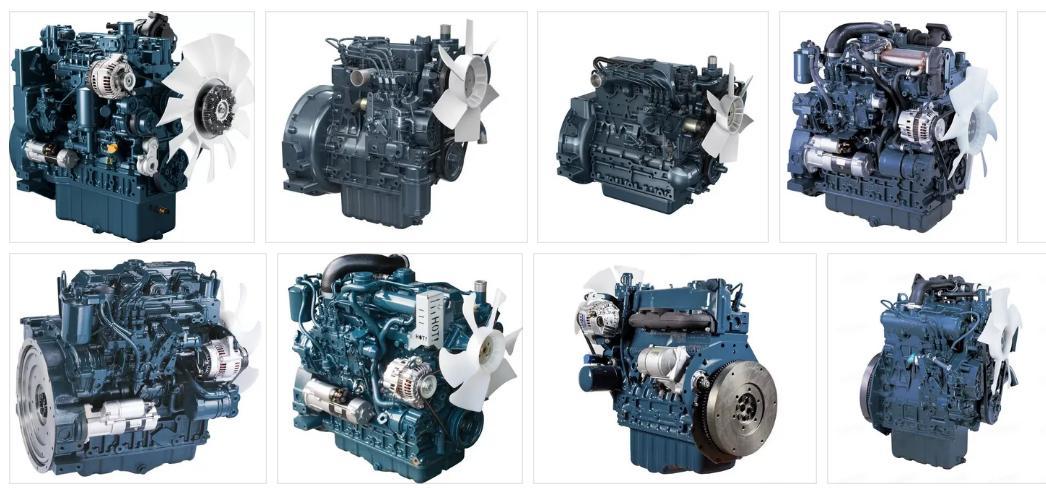 Сервис и ремонт двигателей Kubota