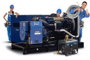Ремонт промышленных генераторов