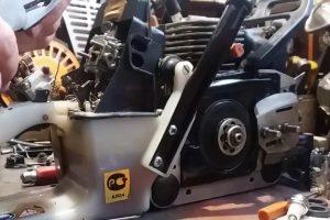 Промывка двигателей садового оборудования