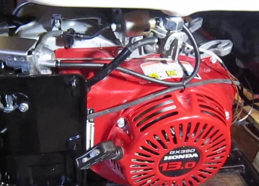 Ремонт двигателя электрогенератора